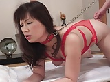 Reiko Shimura gets fucked while her husband is working hard