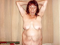 Latinagranny Heavy Mature Photographs Compilation