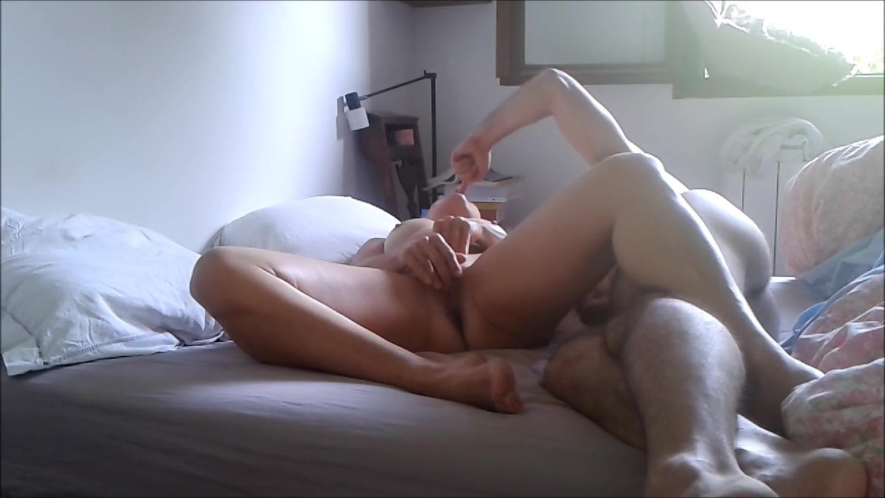 French Blonde Anal Amateur