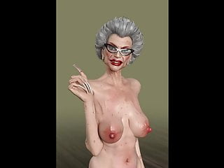 A tanned tranny granny fuck a gorgeous twink...