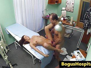 Amateur euro doctor before cumshot...