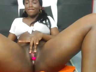 Sexy black young girl on webcam Sonya 2