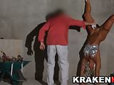 KrakenHot Milf Coral Joice having fun nude outdor, blowjob!!