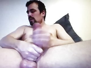 Hung hot dude his own cock...