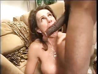 brunette swallow big black cock bbc