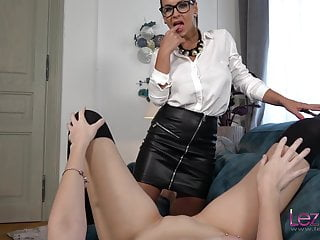 Younger intern will get fucked by her new boss Dorothy Black