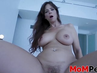 Milf got her tits bouncing while riding...