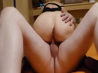 A stranger fucks my wife and cums inside her