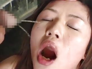 Humiliated lick slave piss girl japanese drink