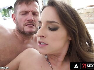 Gorgeous Baddies Wait For Their Turn To Be Assfucked