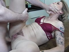 mother gets rough anal sex from sonfree full porn