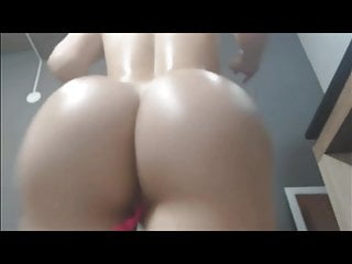 Webcam Big Ass Femdom video: Andrea Fernandez booty clap part 1 by bootytime91