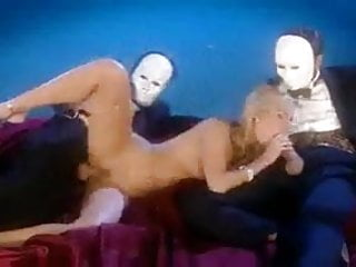 Sophie Evans fucked by masked men