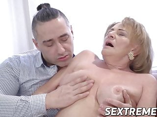 before Seductive a dick sucks fucking throbbing hard granny