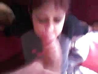 Girlfriend gets spunked