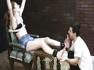 Angela's First Foot Worship