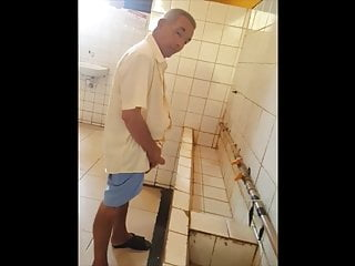 spying on mature man in public toilets 2