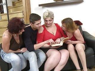 three mature sluts