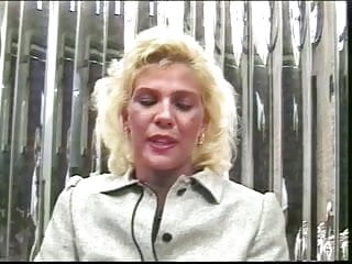 Older blond secretary...