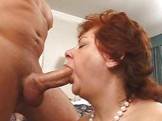Slurping cock...