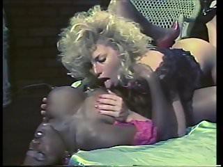 Ebony ayes and samantha strong kissing...