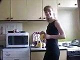 Yulia Tikhomirova - kitchen striptease
