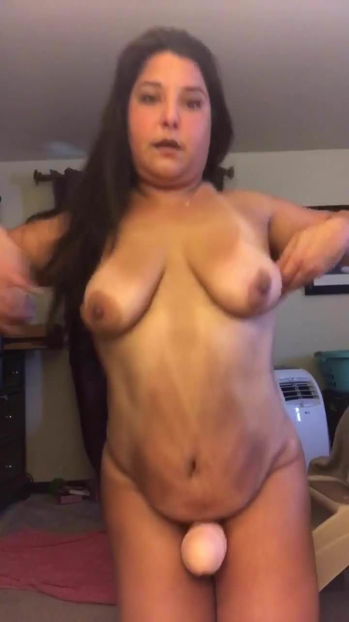 Showing off my big cock