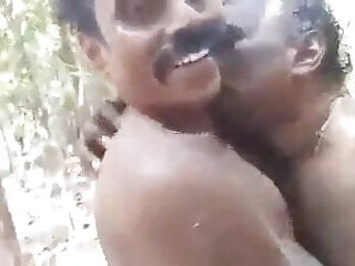 Hot indian uncles nude play in outdoor