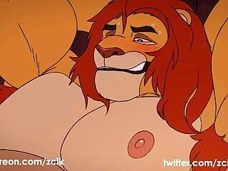 ZCIK August animation Mufasa The Lion King