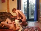 SDRUWS2 -  KINKY GRANNY AND HUBBY ESPLORING EACH OTHER HOLE