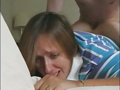 Blonde Wife Moaning From Hard Anal Fucking