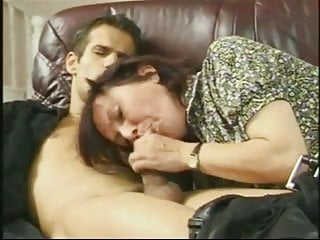 younger dick drives furry granny mad for cum
