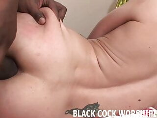 I am getting my pussy stretched by bbc...