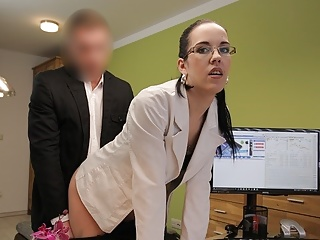 LOAN4K. Stranger, who works in loan office, pays whore for sex