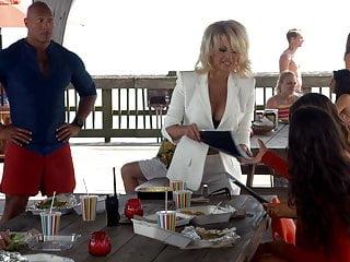 Pamela Denise Anderson - ''Baywatch'' film behind the scenes