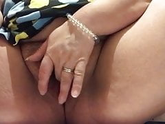 MILF masturbation in dressing room