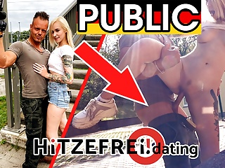 hitzefrei.dating caught by police: blonde teen fucked publicPorn Videos