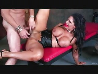 Busty Angela Aspen Riding Cock