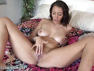 Piping hot Clit Massages Alone Masturbation Kasey Warner ATK