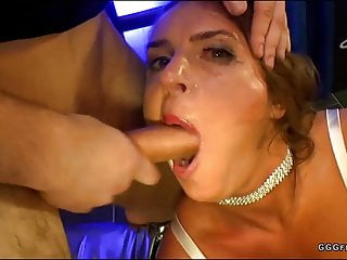 Sexy Susi gets fucked in her mouth and swallows