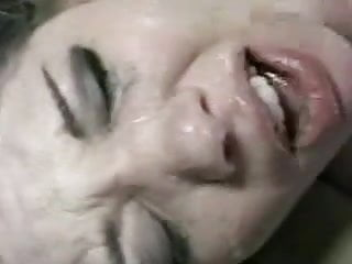 girl chokes on cum and gets really angry.