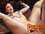 Sophia Locke gets fucked hard in grueling bondage!
