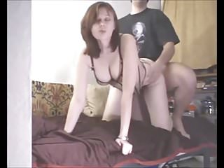 Amateur couple from russia makes...