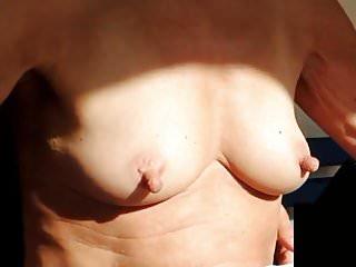 Tits big stiff nipples...