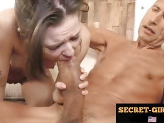 The guy tore all the tight holes of the whore!