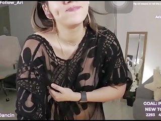 Hot girl masturbating live - Gostosa se masturbando na live