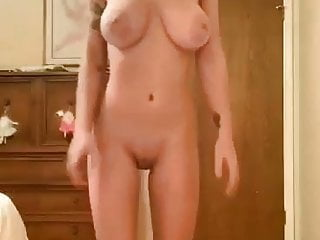 Teen whore let her huge tits bouncing