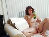 Yoga Lady Comes Home & Gives Herself A Rubdown