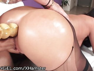 Roxy Raye Huge toys and Cock in ASS