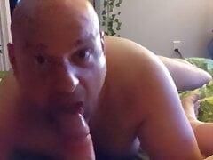 sucking daddy cock